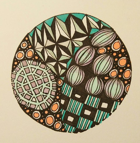 Easy Now Mindfulness Zendoodle Challenge